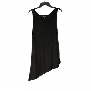 Long Black Knitted Drop Sweater Top